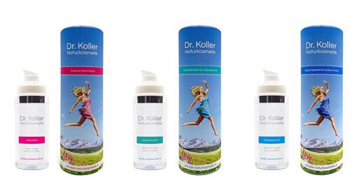 Dr. Koller Naturkosmetik jetzt online erhältlich - im Online Shop