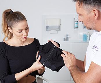 Brustvergrößerung – nach der Behandlung / OP:. Brust Vergrößerung Linz Dr. Koller
