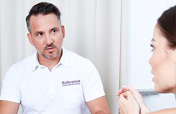 Brustverkleinerung – die Beratung durch den Experten Dr. Matthias Koller. Brüste verkleinern linz