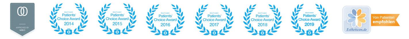 Dr Koller Awards, Dr. Koller ist Experte für Schönheitsoperationen und Facharzt für Plastische Chirurgie in Linz