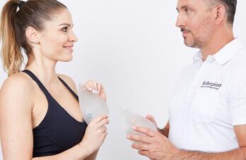 Schönheitschirurgie Brustvergrößerung Sportlerinnen. Brust Vergrößern bei Sportlerinnen und Fitness Models in Linz beim Experten für Brust Operationen