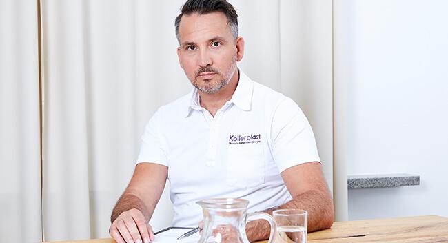 Gynäkomastie OP Linz Dr. Koller. Brustkorrektur Mann. Männerbrust, Brustdrüsengewebe entfernen. Korrektur Gynäkomastie Linz