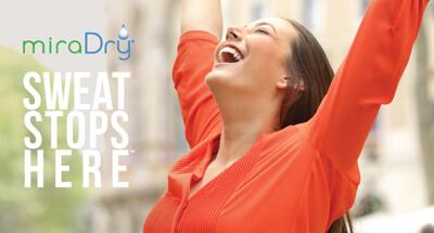 MiraDry - Innovation gegen übermäßigen Achselschweiß. miradry Linz, miradry behandlung in linz