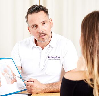"""Dr. Koller ist Experte für Nasenhöcker Korrekturen. Die Nasenkorrektur zur Entfernung eines Nasenhöckers ist der """"kleinste"""" Eingriff in der ästhetischen Nasenchirurgie."""
