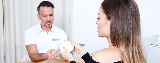 Brust OP Brustvergrößerung Implantate. Brust Vergrößerung Linz bei Dr. Koller