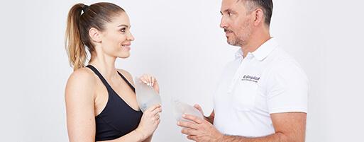 Brustvergrößerung Sportlerinnen und Fitness Models in Linz. Dual Plane Brustvergrößerung, leichte Implantate